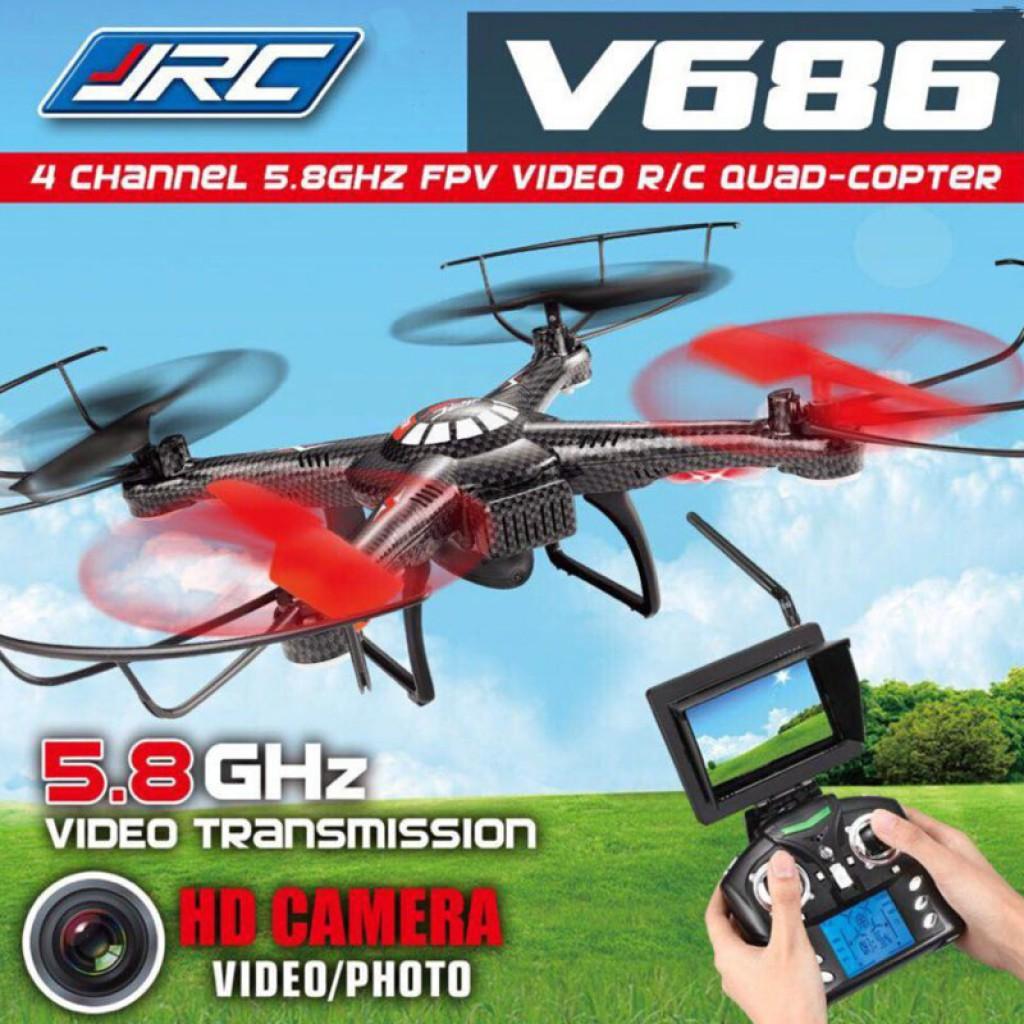 rc-quadcopters-JJRC V686g Headless Mode RC Quadcopter-JJRC V686g 5.8G FPV Headless Mode RC Quadcopter with HD Camera Monitor 1024x1024