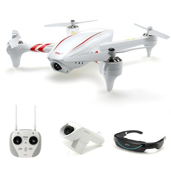 JYU Hornet S HornetS Racing Goggles & Gimbal HD Camera GPS RC Quadcopter
