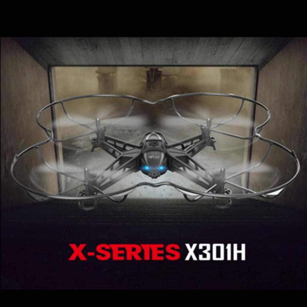 rc-quadcopters-MJX X301H X-XERIES WIFI FPV Altitude Hold Mode RC Quadcopter-MJX X301H X XERIES WIFI FPV With 720P HD Camera Altitude Hold Mode RC Quadcopter RTF 1024x1024