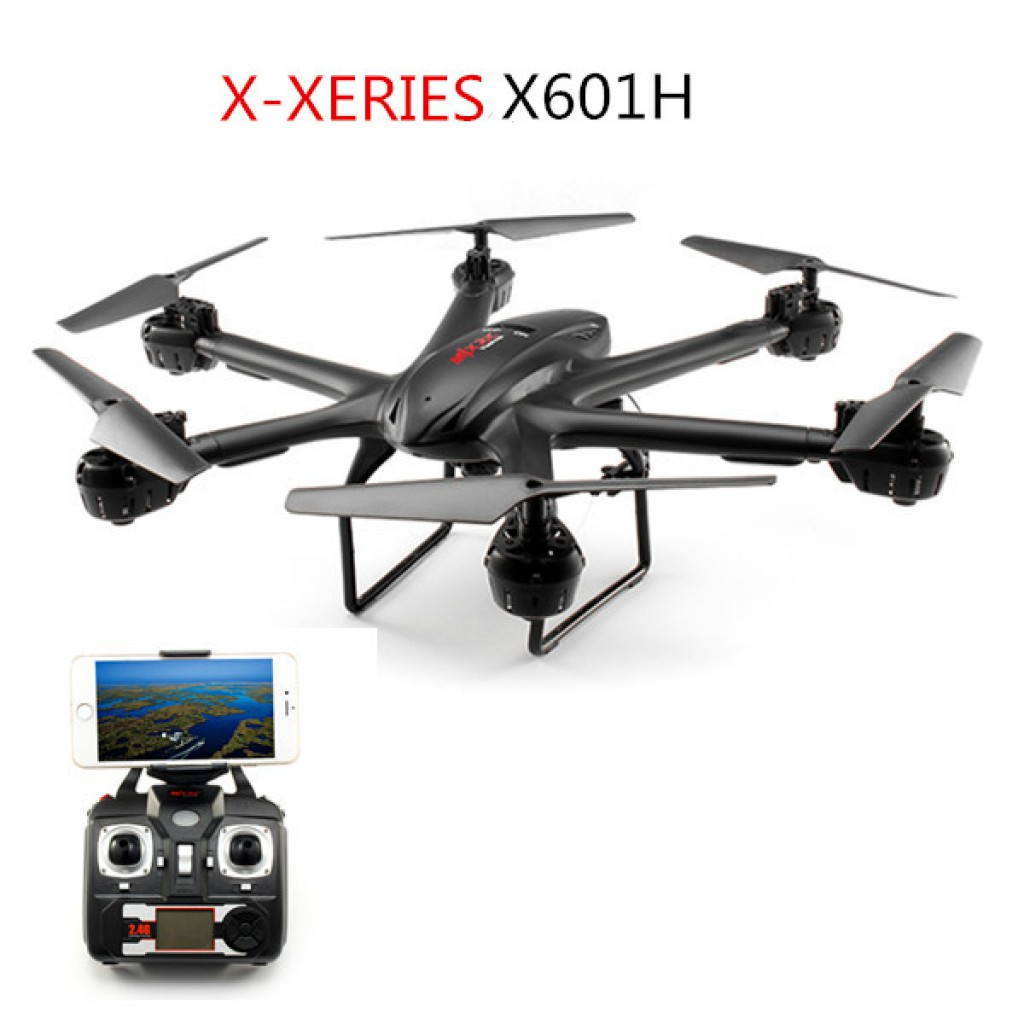 rc-quadcopters-MJX X601H X-XERIES Altitude Hold Mode RC Hexacopter-MJX X601H X XERIES WIFI FPV With 720P HD Camera Altitude Hold Mode RC Hexacopter RTF 1024x1024