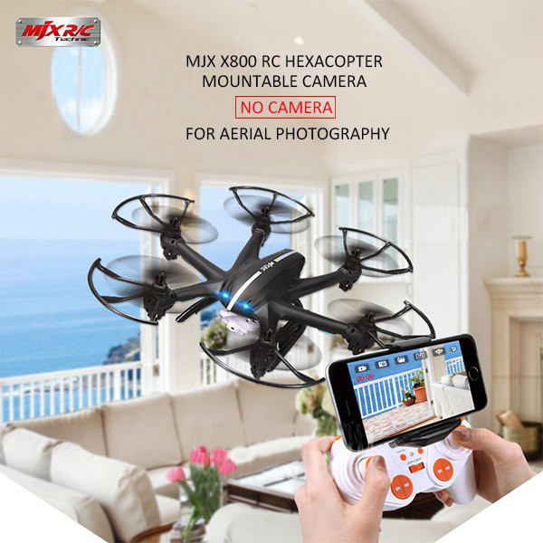 MJX X800 FPV Set Fit 3D Roll RC Hexacopter