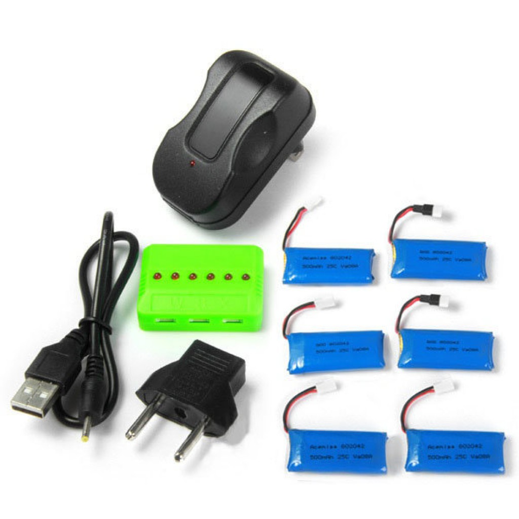 batteries-Hubsan H107L Battery Charger-SKU232620 1 1024x1024