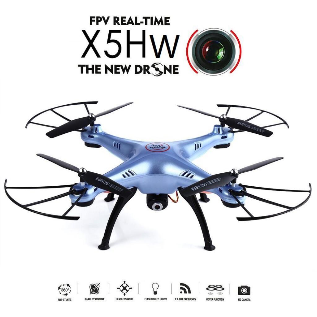 rc-quadcopters-Syma X5HW WIFI FPV RC Quadcopter-Syma X5HW WIFI FPV With 0.3MP HD Camera 2.4G 4CH 6Axis RC Quadcopter RTF 1024x1024