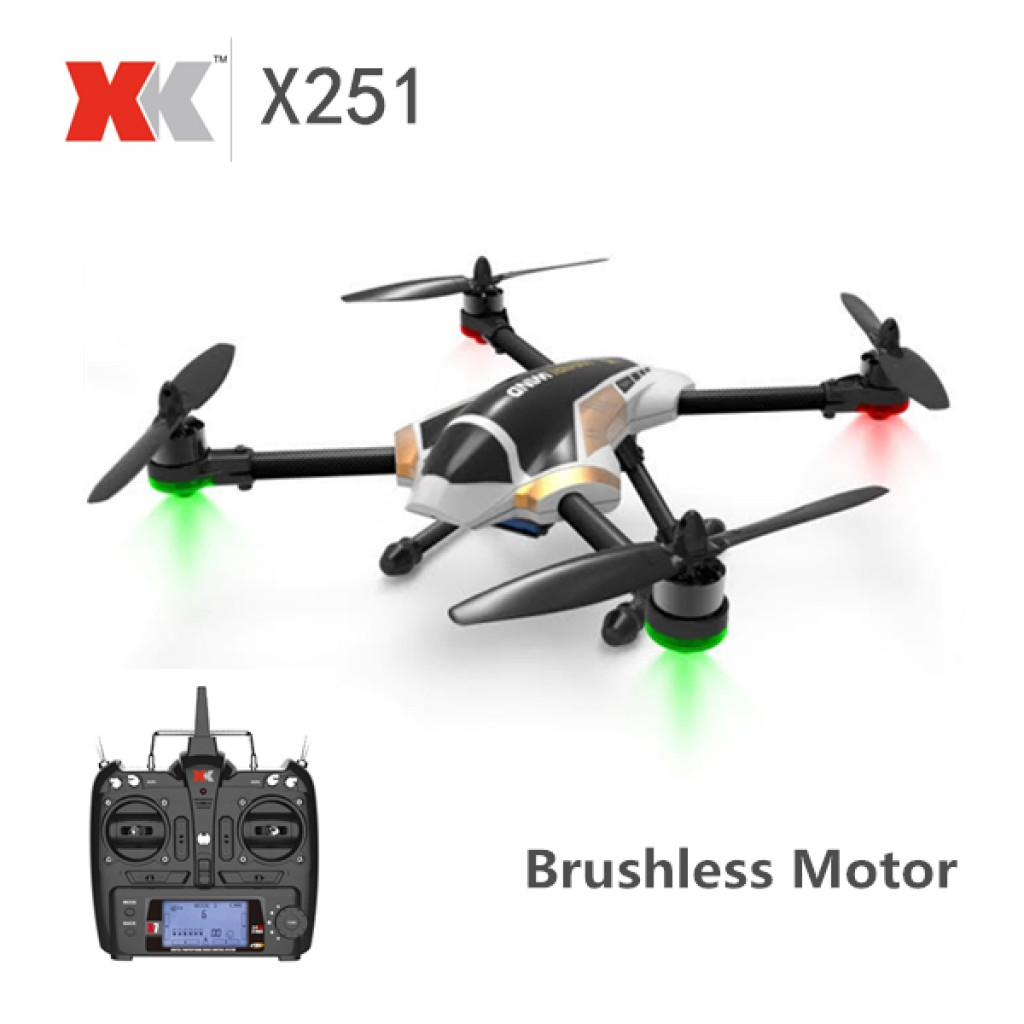 rc-quadcopters-XK X251 Brushless Motor Mode RC Quadcopter-XK X251 With Brushless Motor 3D 6G Mode RC Quadcopter RTF 1024x1024