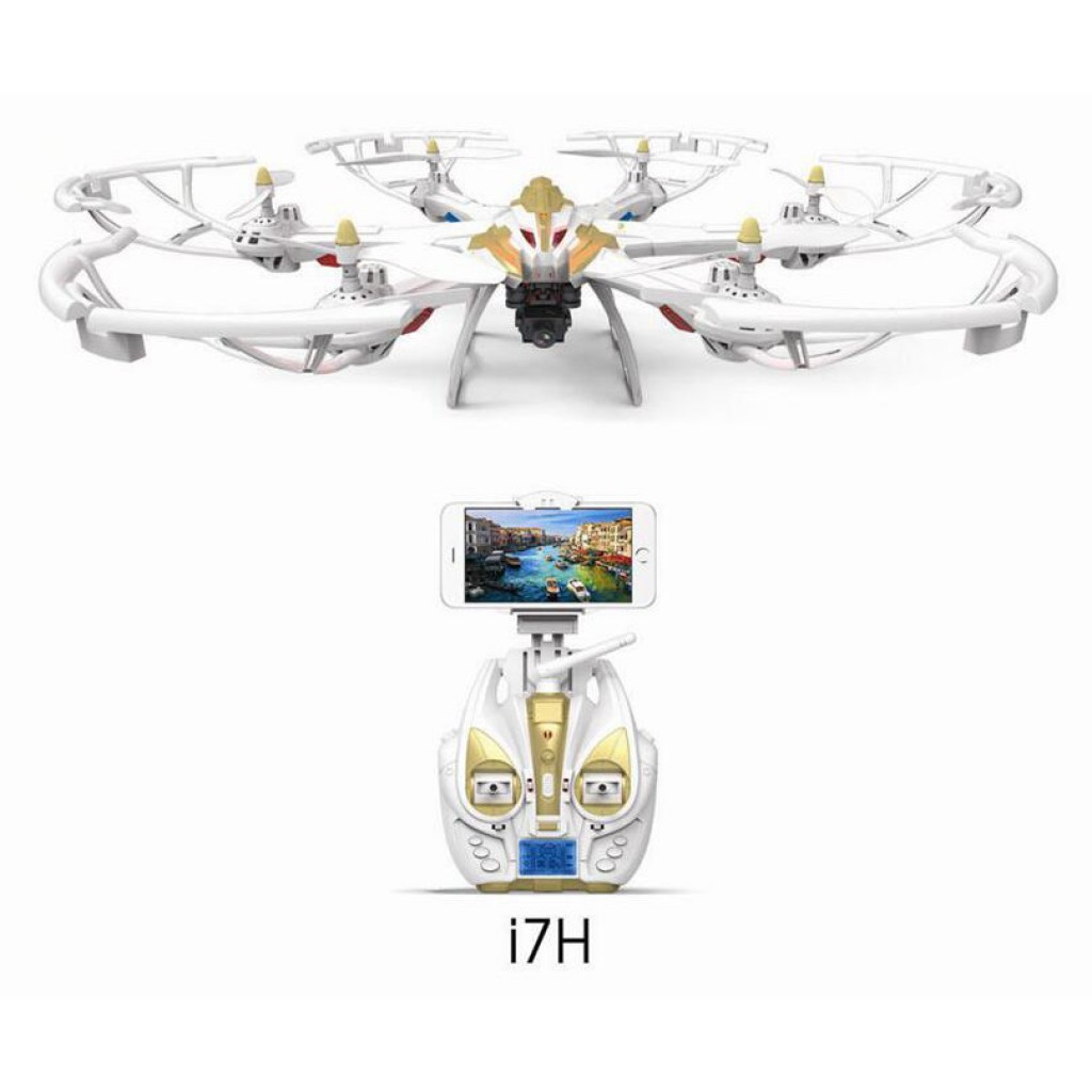 rc-quadcopters-Yi Zhan i7H Camera Version Altitude Hold RC Hexacopter-Yi Zhan Yizhan i7H WIFI FPV With 720P Camera 1080P Camera Version Altitude Hold RC Hexacopter RTF 1024x1024
