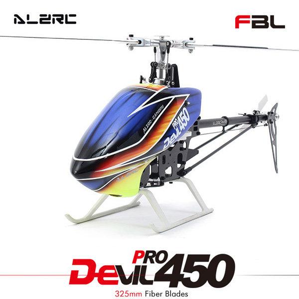 ALZRC Devil 450 Pro V2 FBL KIT RC Helicopter 14H45DRK Silver