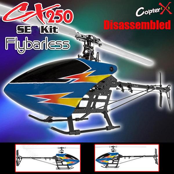 CX250SEFBL CopterX CX 250SE Flybarless Kit
