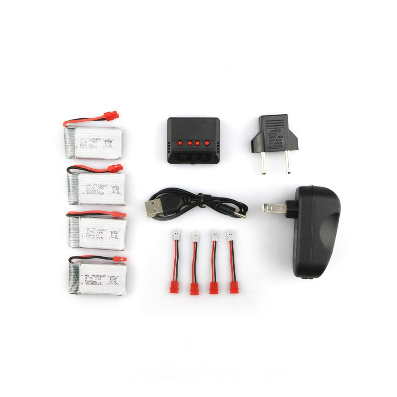 Syma X5HC X5HW RC Quadcopter Battery and Charger Set X4A-A12