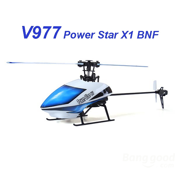 WLtoys V977 X1 Brushless RC Helicopter BNF