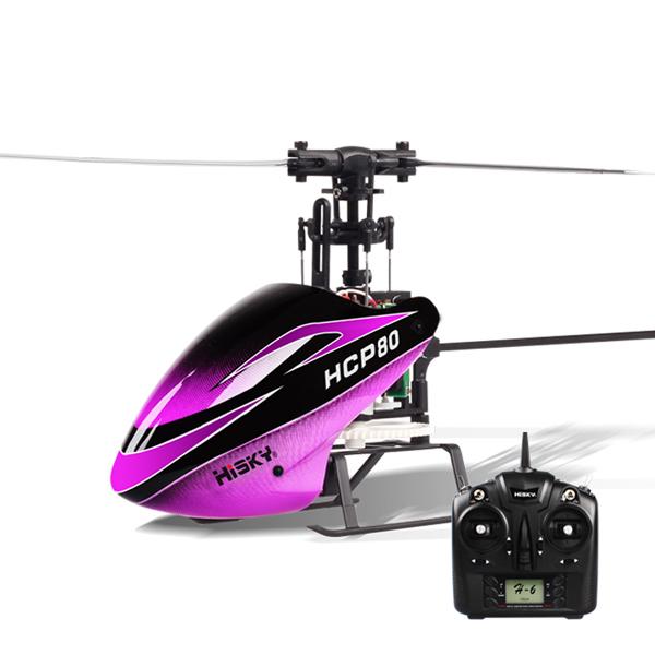 Hisky HCP80 V2 RC Helicopter H-6 RTF