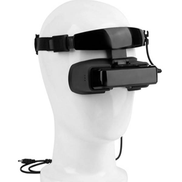 FPV Inch Video Goggles 3D 2D Headset Monitor AV Interface