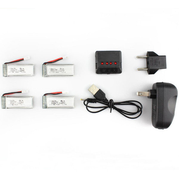 Battery Charger for Hubsan X4 H107P RC Quadcopter