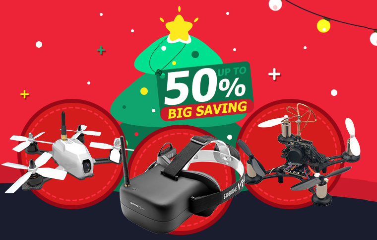 Christmas Best Gift Inspiration on RC Toys & Hobbies: Up to 50% Off