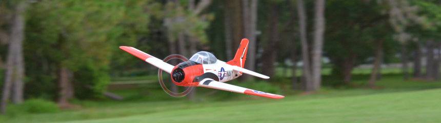 Eleven Hobby T-28 RC Airplane Trojan 1100mm 43″ Wingspan PNP