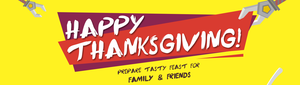 Happy Thanksgiving & Get Coupons at Banggood Now