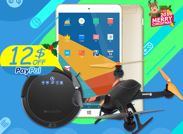 Christmas Special Sale For Cool RC Drone: Order $100 Get $12 Off