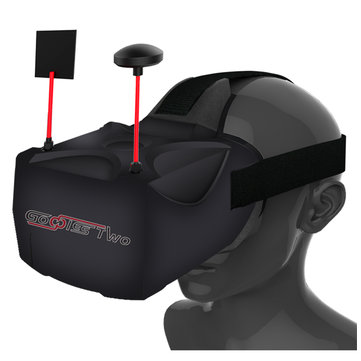 Eachine Goggles Two 40CH Raceband HD 1080p FPV Goggles Video Glasses