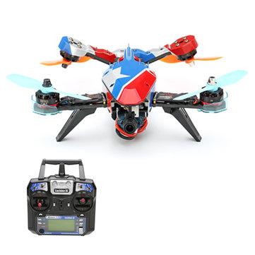 Eachine V-tail 210 FPV Drone With 1080P HD DVR F3 EVO 5.8G 40CH 200mW VTX OSD
