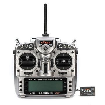 FrSky ACCST Taranis X9D PLUS 16CH 2.4GHz Transmitter