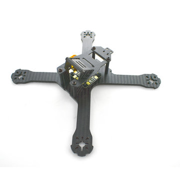 Realacc X210 214mm 3mm/4mm Carbon Fiber FPV Racing Frame