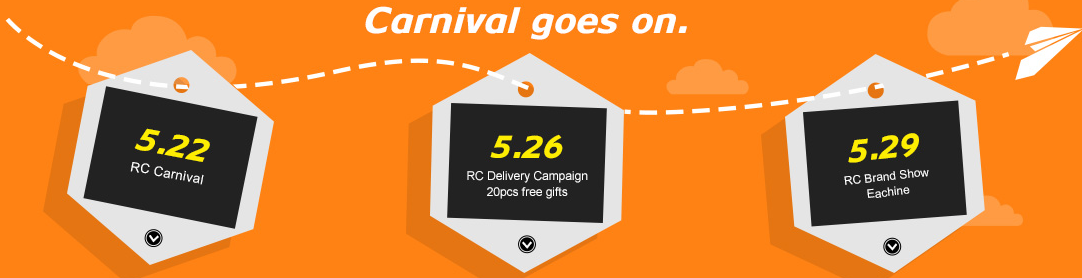 news-RC Carnival at Banggood: Max 51% Off-RC Carnival Time