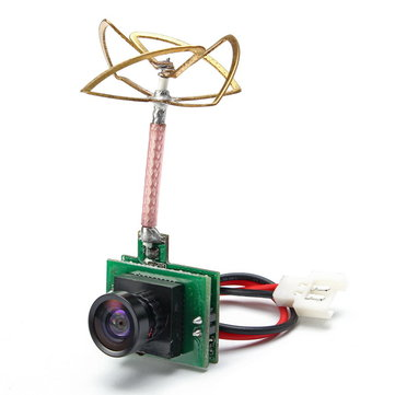 Realacc TX48 AIO 1/4 CMOS 1000TVL 120 Degree Micro FPV Camera