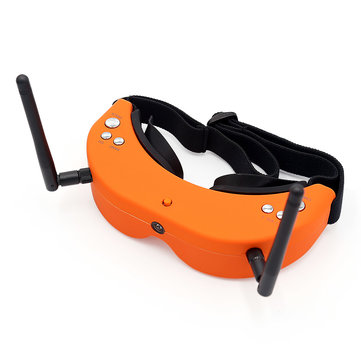 Skyzone SKY01S 5.8G 48CH FPV Goggles Auto Search Video Headset