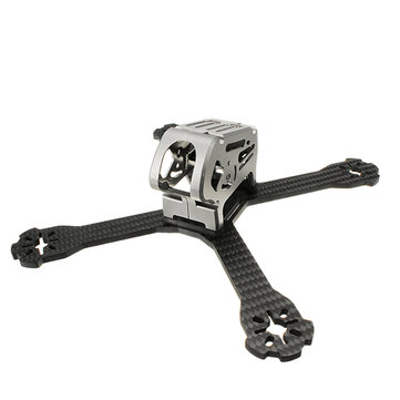 Realacc Stan200 200mm 4mm Arm Thickness Carbon Fiber Frame Kit