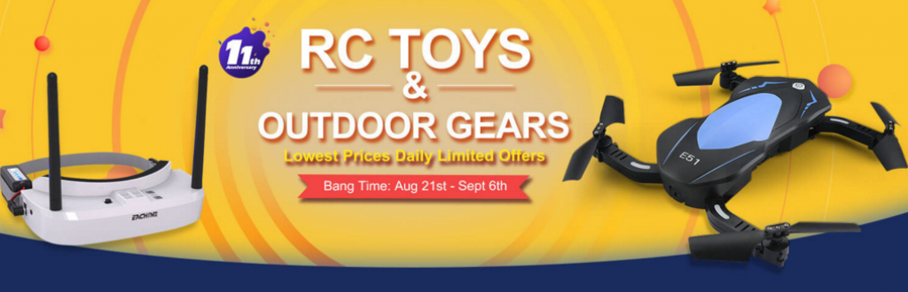 news-Tips to Help you Join Banggood's 11th Anniversary Easily-RC toys 1024x330