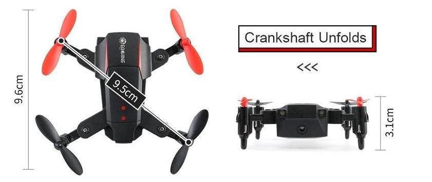 rc-quadcopters-Overview of Eachine E59 Mini RC Quadcopter RTF-Eachine E59 Size 1