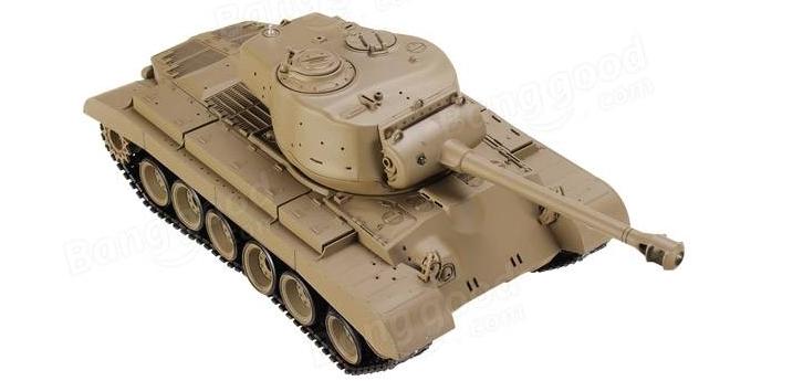 rc-toys, rc-cars-Heng Long 1/16 2.4G 3838-1 US M26 Pershing RC Tank-Heng Long Pershing Tank 1