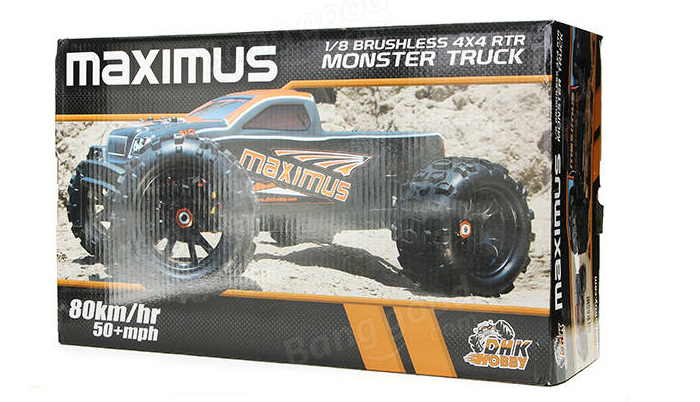 rc-toys-DHK 8382 Maximus 1/8 85KM/H 120A 4WD Brushless Monster Truck-DHK 8382 Pictures 2
