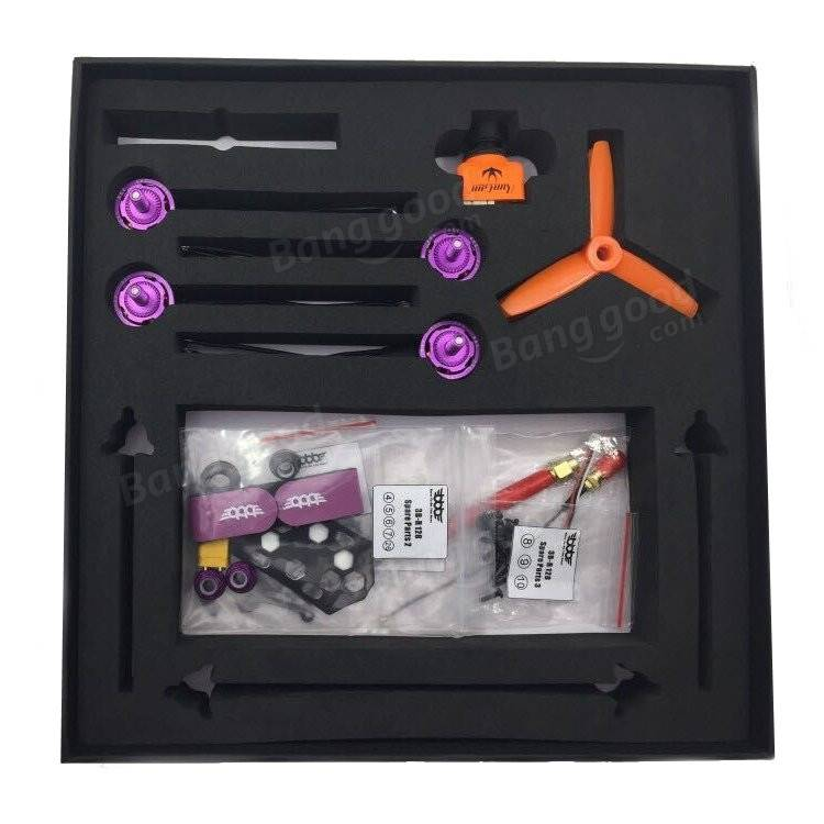 multi-rotor-parts-3BR-128 128mm Carbon Fiber FPV Racing Frame Kit-3BR 128 2