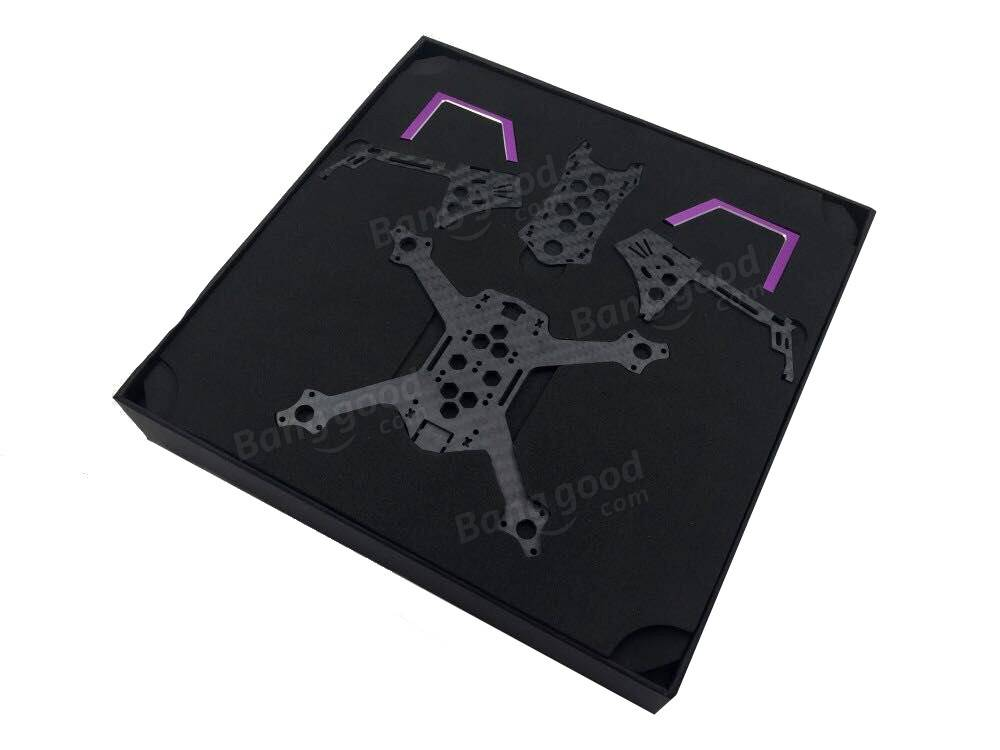 multi-rotor-parts-3BR-128 128mm Carbon Fiber FPV Racing Frame Kit-3BR 128 3