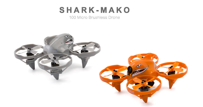 drones-DYS Shark-Mako 100mm FPV Racing Drone BNF-DYS Shark Mako Drone 1