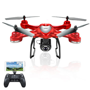S-SERIES S30W Double GPS Dynamic Follow WIFI FPV RC Quadcopter