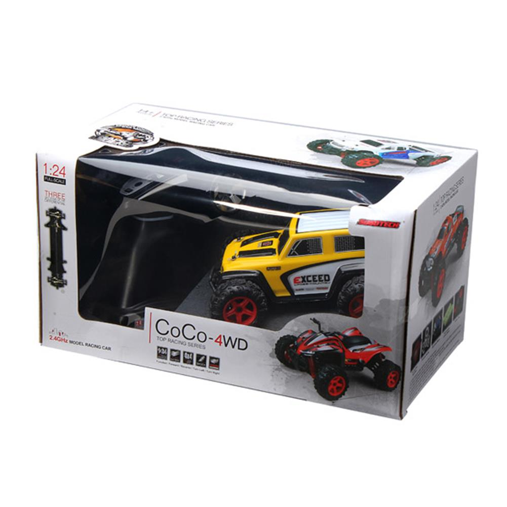 rc-cars SUBOTECH NO.BG1510D 1/24 2.4GHz High Speed 4WD Off Road Racer RC1021894 3