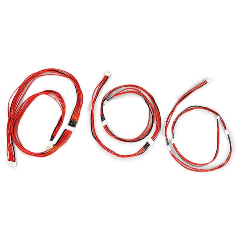 connector-cable-wire Lipo Battery Charger Silicone Wire Balance Extension Cable 2S 3Pin 3S 4Pin 4S 5Pin 6S 7Pin 8S 9Pin 2.54XH 30cm RC1022456 2