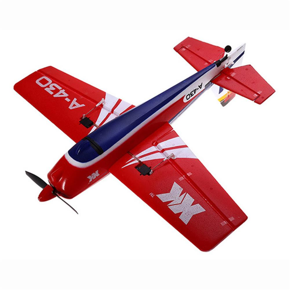 rc-airplanes XK A430 2.4G 5CH 3D6G System Brushless RC Airplane Compatible Futaba RTF RC1038659 3