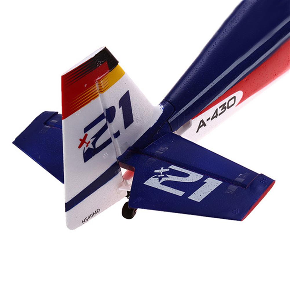 rc-airplanes XK A430 2.4G 5CH 3D6G System Brushless RC Airplane Compatible Futaba RTF RC1038659 4