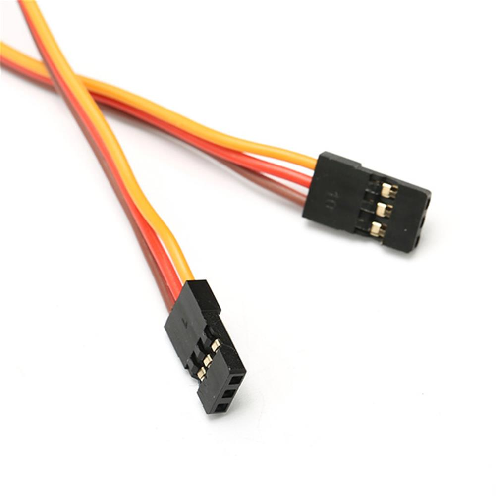 connector-cable-wire 22AWG 60 Core 20cm Male to Male JR Plug Servo Extension Wire Cable RC1056558 6