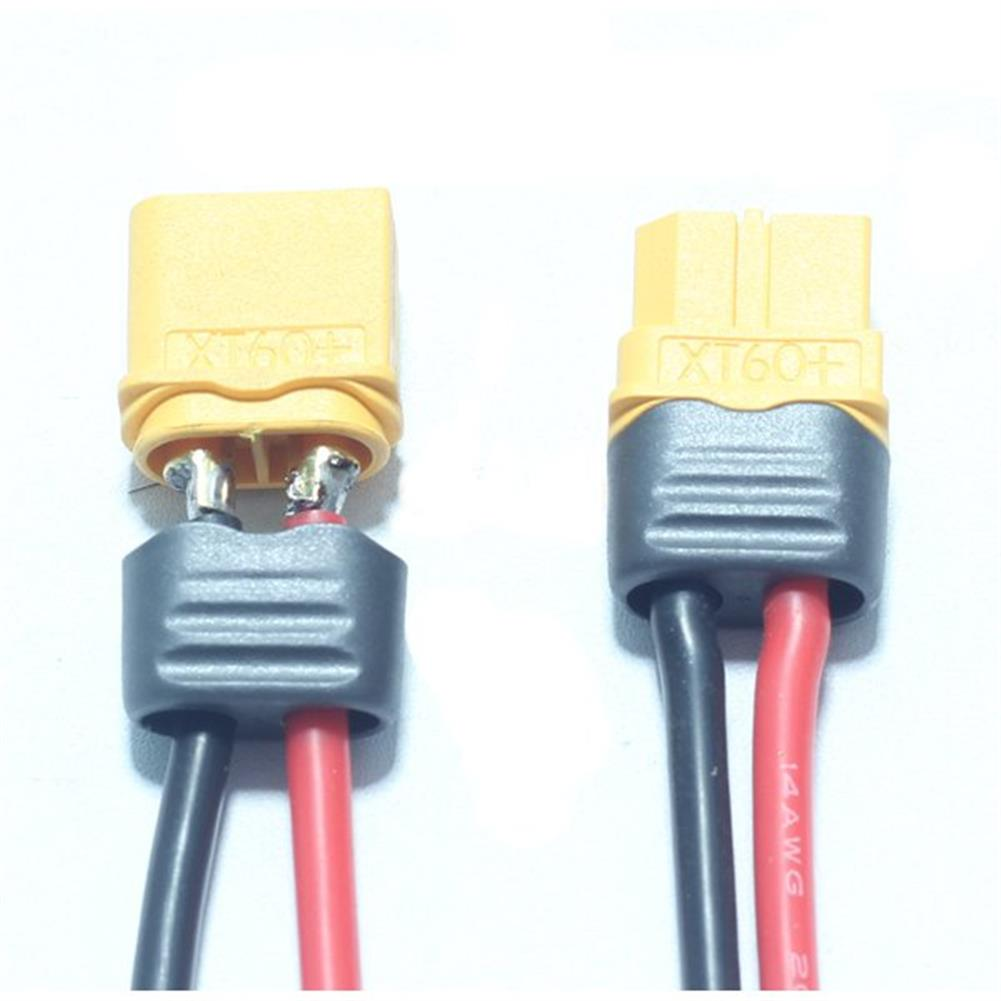 connector-cable-wire AMASS XT60+ Plug Connector 14AWG 10cm Power Cable Wire RC1060098 1