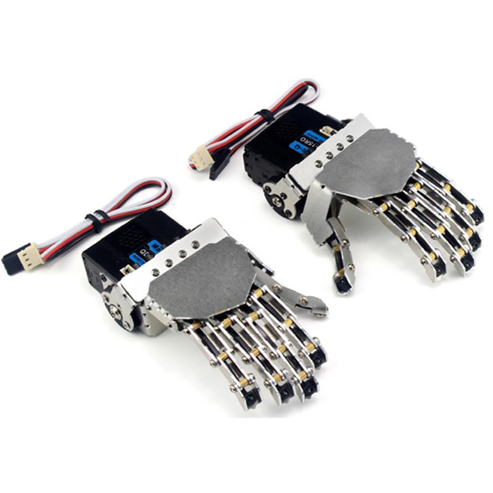 robot-arm-tank DIY QDS-1503 Robot Arm Smart Metal Hand Manipulative Finger Kit for Robot RC1068930