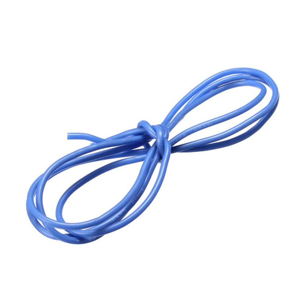 connector-cable-wire Blue 1M 8/10/12/14/16/18/20/22/24/26 AWG Silicone Wire SR Wire RC1069996 2