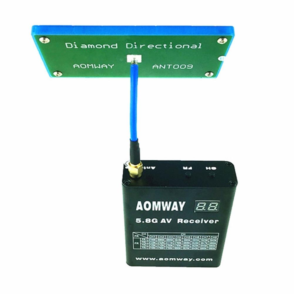 fpv-accessories Aomway 5.8G 13dbi Diamond Directional Antenna SMA RP-SMA For Receiver RC Drone RC1075413 2