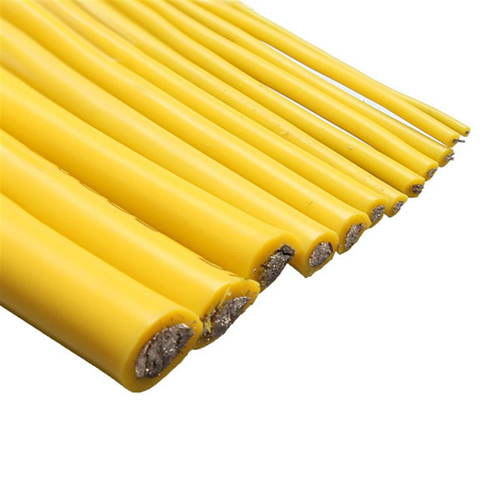connector-cable-wire Yellow 2M 8/10/12/14/16/18/20/22/24/26 AWG Silicone Wire SR Wire RC1080327