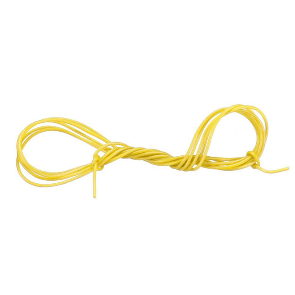 connector-cable-wire Yellow 2M 8/10/12/14/16/18/20/22/24/26 AWG Silicone Wire SR Wire RC1080327 2