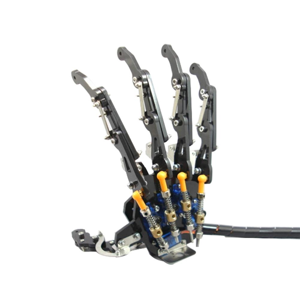robot-arm-tank DIY 5DOF Robot Arm Five Fingers Metal Mechanical Paw Left and Right Hand RC1099018