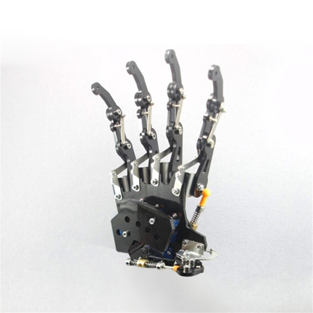 robot-arm-tank DIY 5DOF Robot Arm Five Fingers Metal Mechanical Paw Left and Right Hand RC1099018 1