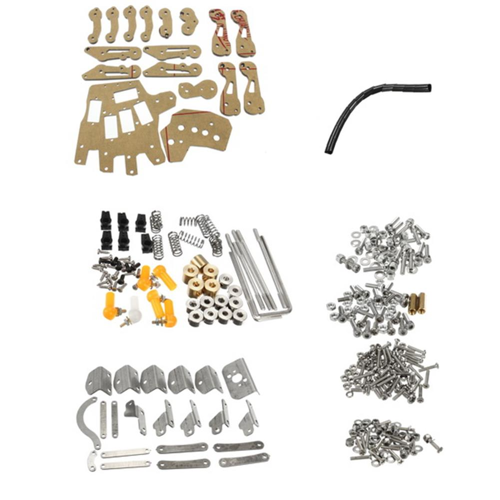 robot-arm-tank DIY 5DOF Robot Arm Five Fingers Metal Mechanical Paw Left and Right Hand RC1099018 3